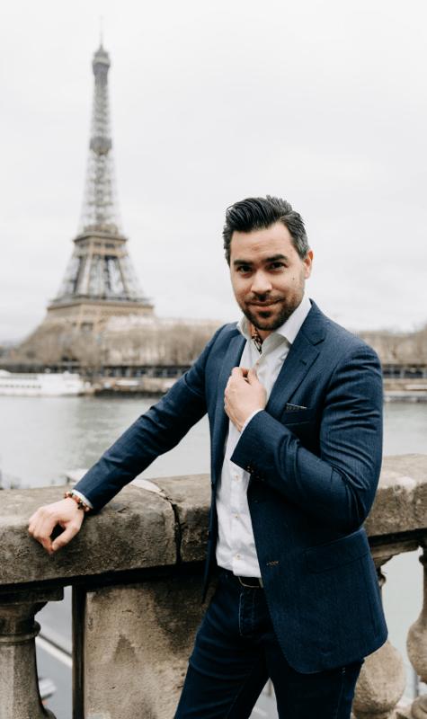 Goloya Jewelry Fashion Paris Founder Peter Lufting